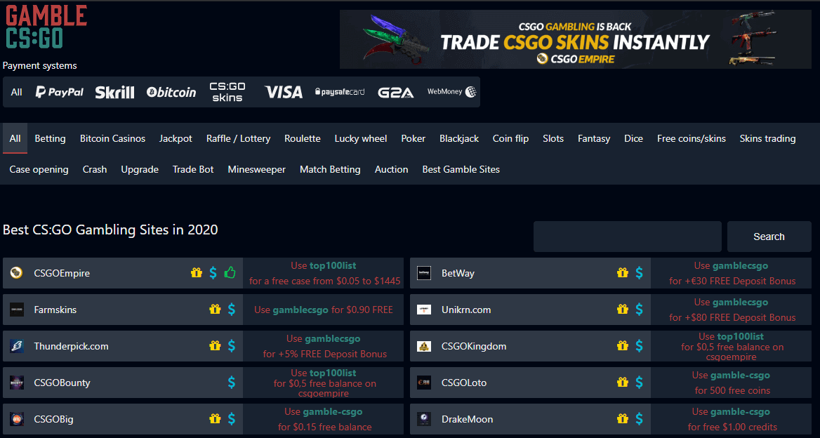 Cs Go Gamble Sites