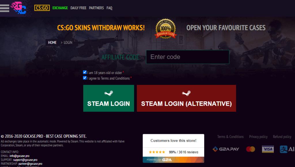 gocase affiliate code